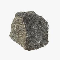 3D rock realistic model