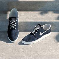 3d nike shoe