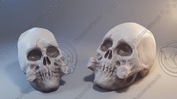 skull printer 3D