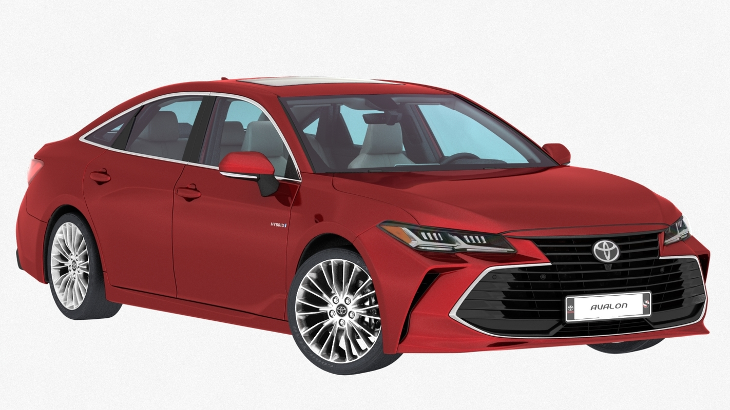 toyota avalon hybrid 2019 3D model
