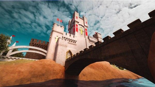3D castle details