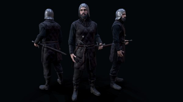 stark soldier 3D model