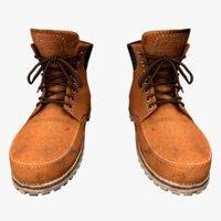 3D boots model