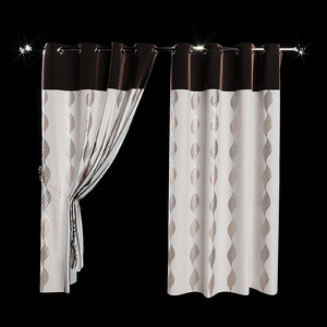 curtain cringles 3D