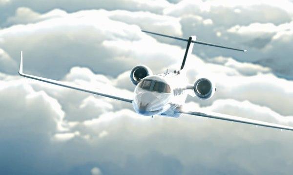 substance lear jet 45 3D model
