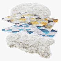 carpets hair fur model
