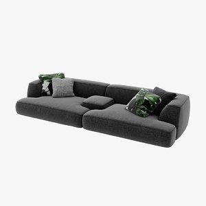 lema cloud sofa - 3D model