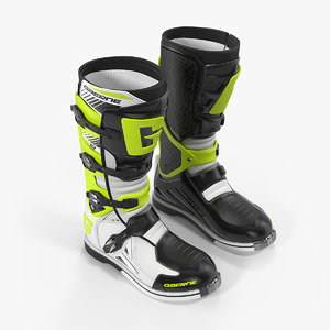 3D gaerne sg10 boots black