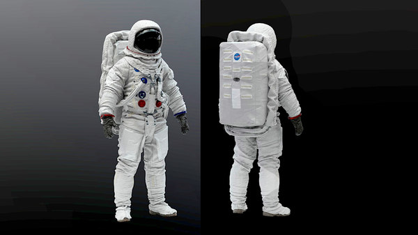 apollo 11 suit 3D model