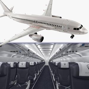 3D airbus a320-200 generic