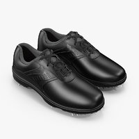 footjoy men black golf 3D model