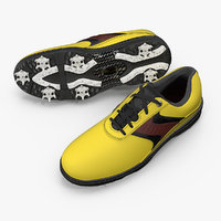 golf spikes shoes generic 3D model