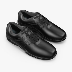 men black sport shoes 3D