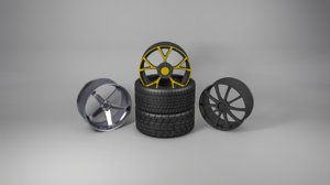 3D value tires rims