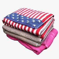 pile towels model