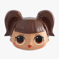 3D doll head