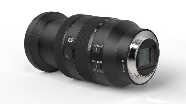 3D sony e-mount g lens model