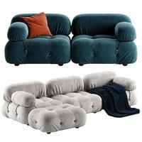 camaleonda sofa seat 3D model
