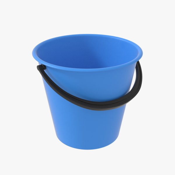 bucket contains 3D model