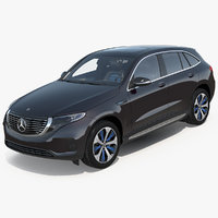 3D model mercedes benz eqc eq