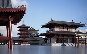 buildings japan 3D model