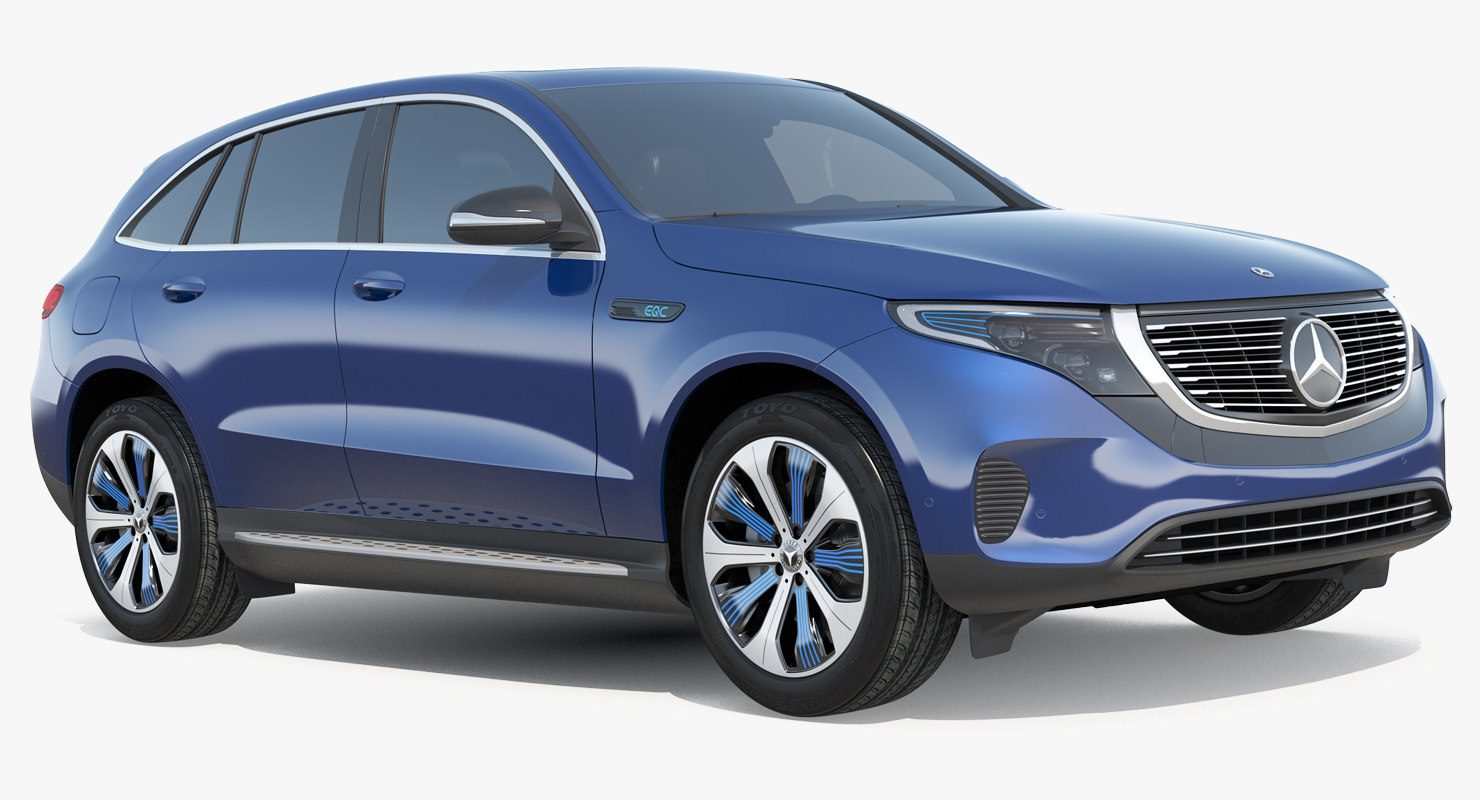 mercedes benz eqc simple 3D model
