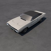 charger 1967 3D