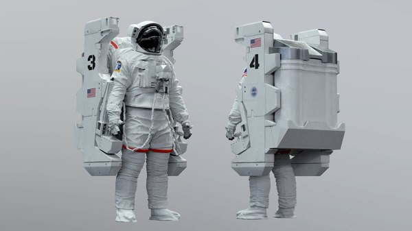 extravehicular emu space mmu model