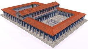 roman palace classical model
