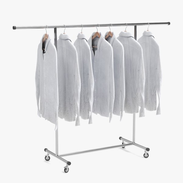 3D model shirts stand