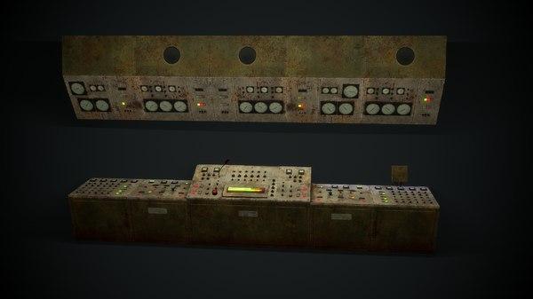 3D control pbr model