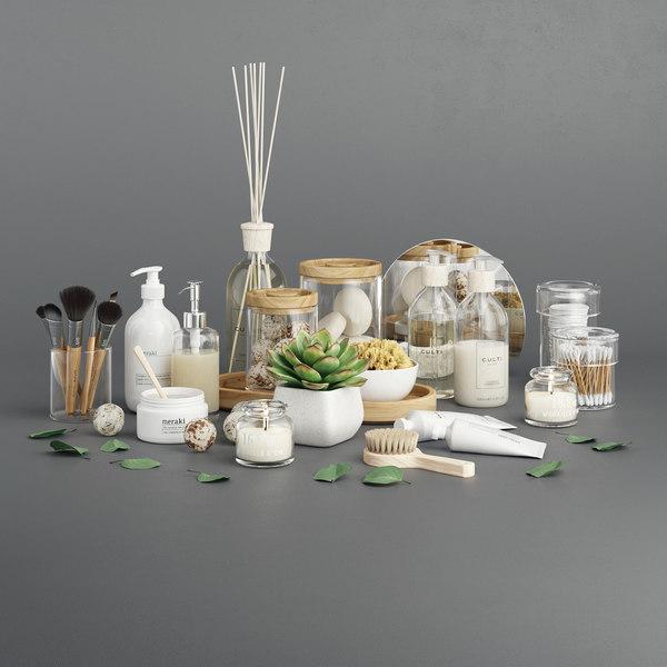 soap candle plant 3D model