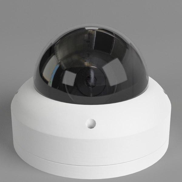 dome surveillance camera 3D model