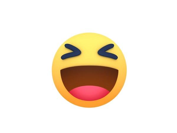 facebook haha reaction button model