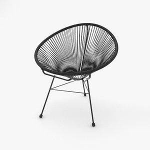 3D chair acapulco