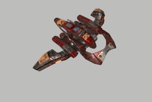 spaceship space ship 3D model