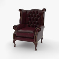 chair wingback model