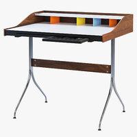 nelson swag leg desk 3D model