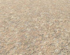 Arid desert terrain seamless 10 PBR
