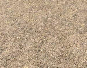 Arid desert terrain seamless 5 PBR