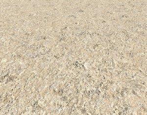 Arid desert terrain seamless 12 PBR