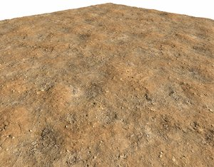 Arid desert terrain seamless 2 PBR