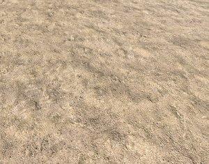 Sandy desert terrain seamless PBR