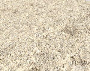 Arid desert terrain seamless 11 PBR