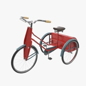 tricycle child 3D