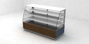 patisserie cabinet 3D model