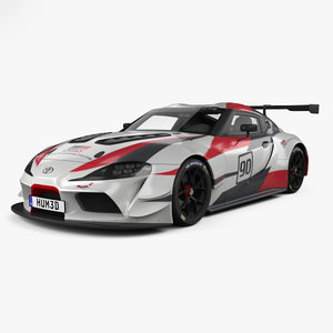toyota supra racing 3D model