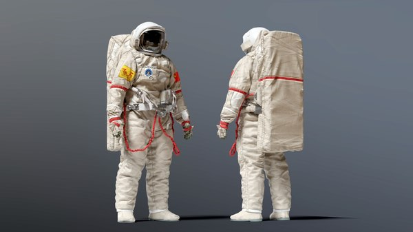 3D model feitian china space