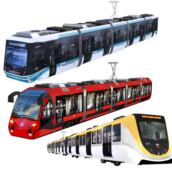 tram metro 3D