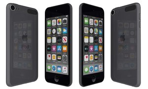 3D model apple ipod touch black